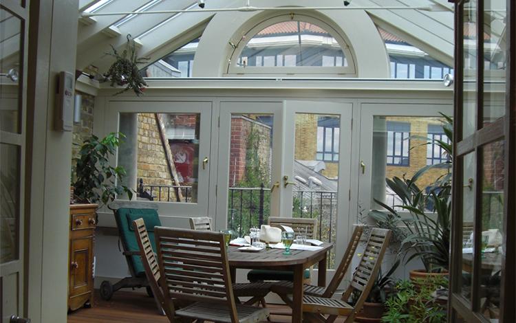 Proctor watts cole rutter garden rooms for London garden rooms